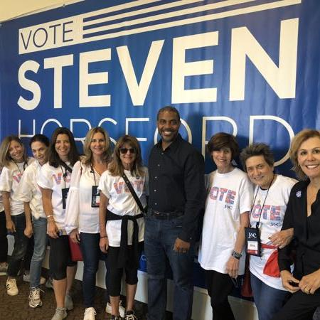 JAC members getting out the vote for Steven Horsford in Nevada