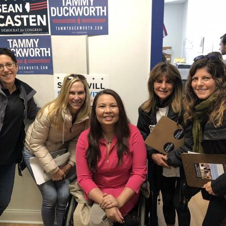 GOTV with Sen Tammy Duckworth (D-IL)